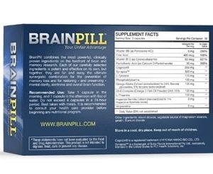 BrainPill Fight Memory Loss