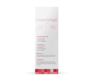 HerSolution Gel Improves Vaginal Dryness