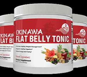 Okinawa Flat Belly Tonic Lose Face Fat