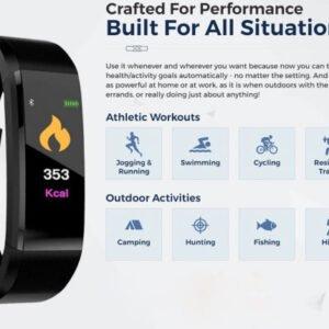 Get 3 Free Smart Watch PentagonFit Heart Rate Monitor