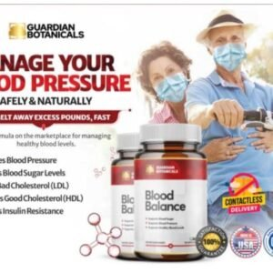 Blood Balance Advanced FormulaManage Blood Pressure and Blood Sugar Levels