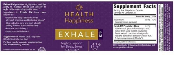Exhale PM Helps Fall Asleep & Stay Asleep All Night